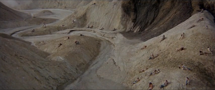 Zabriskie point sex scene